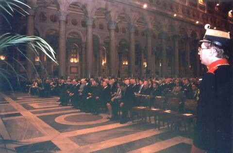 Over 3,000 pilgrims attended the Prayer Service and Vigil Mass at Saint Paul's Outside-the-Walls