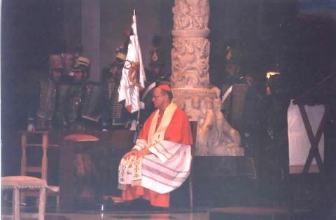 Archbishop Peter Cardinal Erdo of Esztergom-Budepest presided at the Prayer Service.