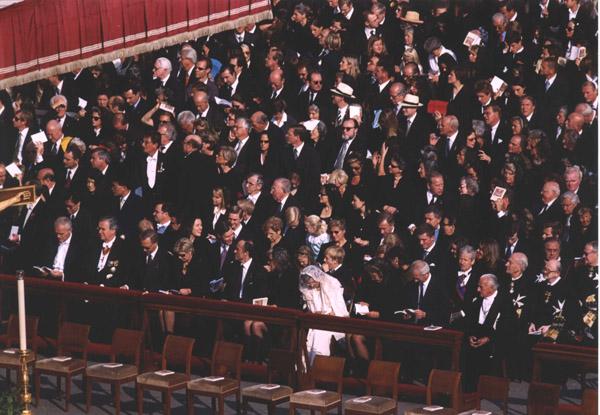 Over 100 living descendants of the Emperor were in attendance.