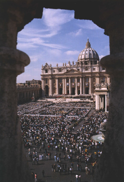 Vatican officials estimated that over 50,000 people attended the Beatification Mass.