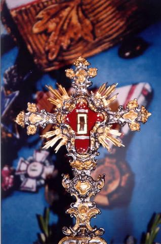The relic of Blessed Emperor Karl of Austria.