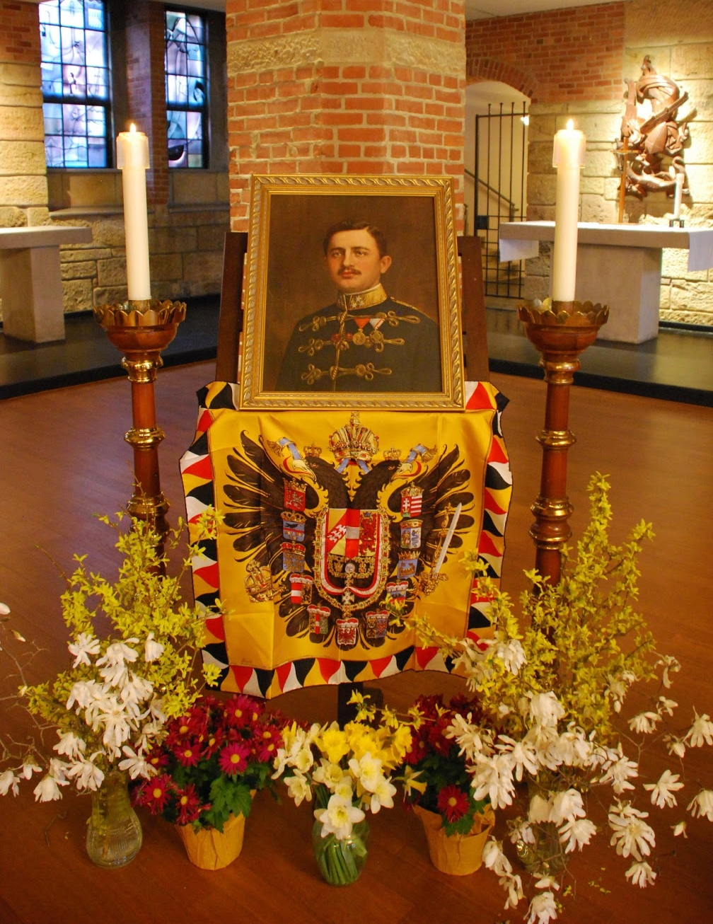 From a Votive Mass for Blessed Karl of Austria, Saint Vincent Archabbey Basilica Crypt, Latrobe, Pennsylvania