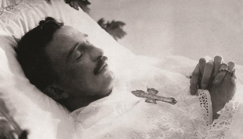 The Emperor Shortly After His Last Breath, April 1, 1922