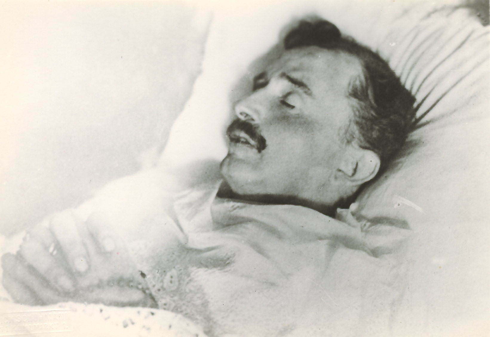The Emperor Shortly After Death, April 1, 1922