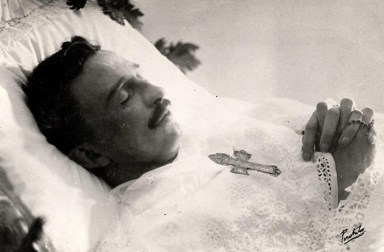 Emperor Karl Shortly After Death on April 1, 1922