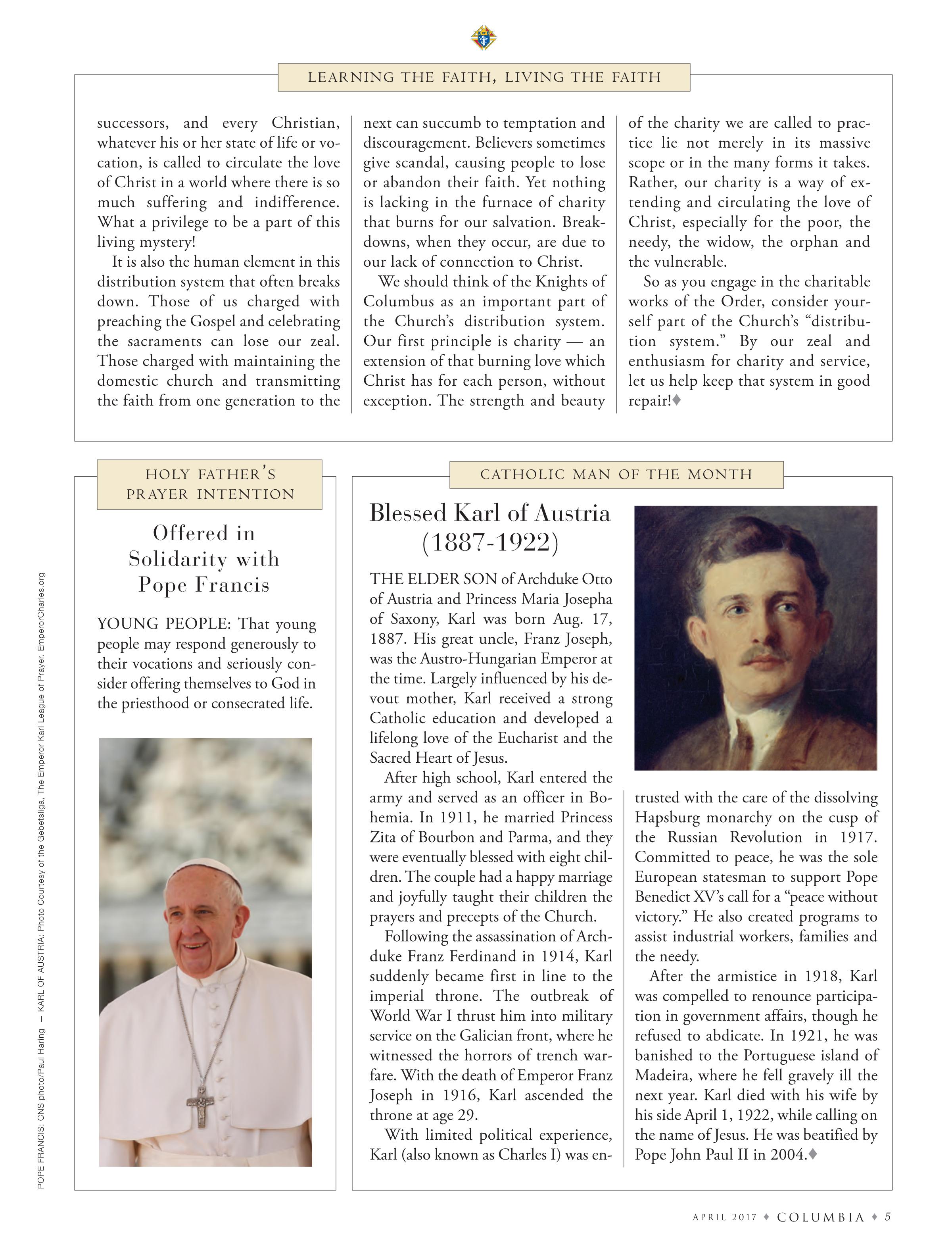 Catholic Man of the Month April 2017 Columbia.jpg