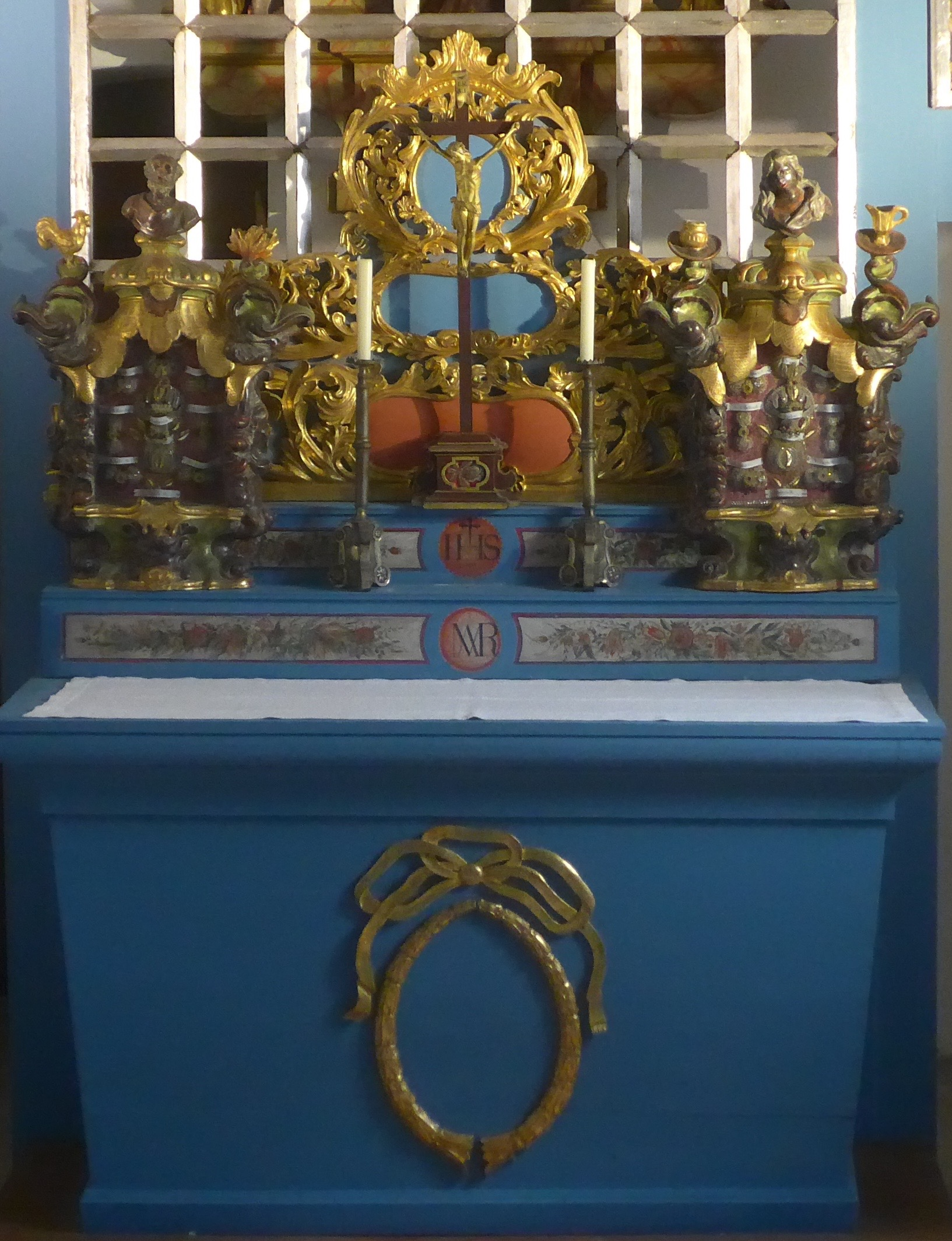Loreto Altar in Heart Shrine