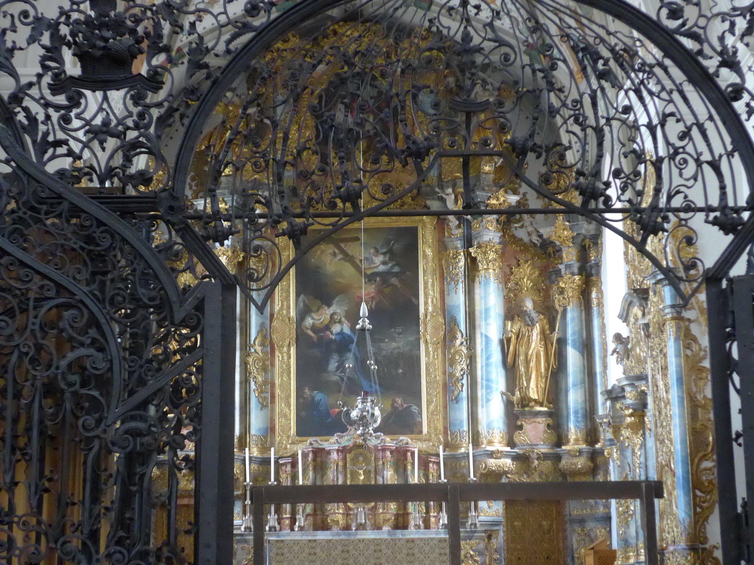 Muri Abbey Church Sanctuary