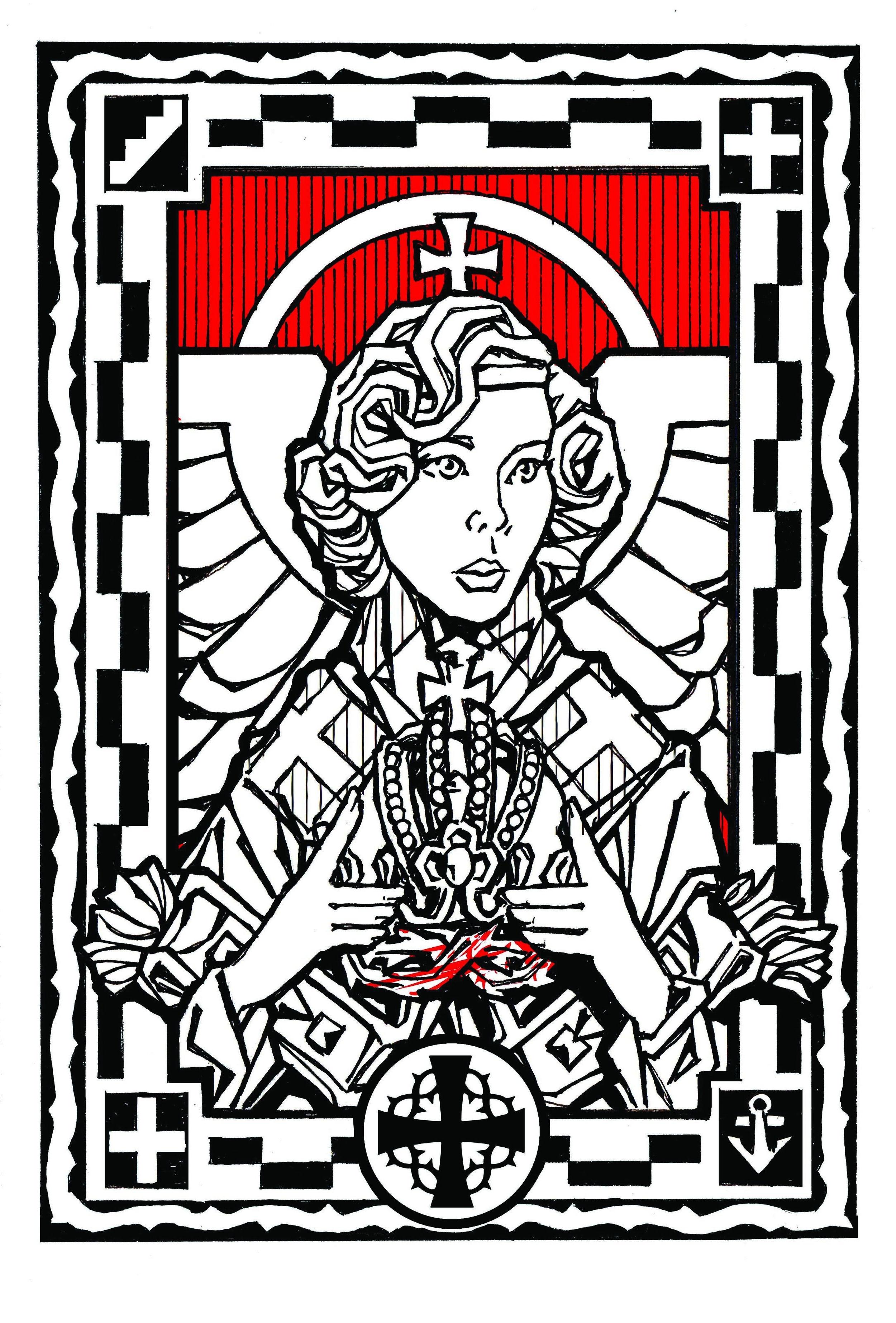 Angel Bearing Austria's Imperial Crown