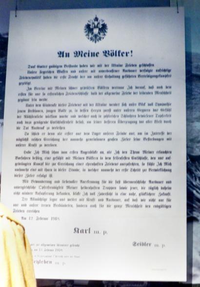Proclamation by Karl
