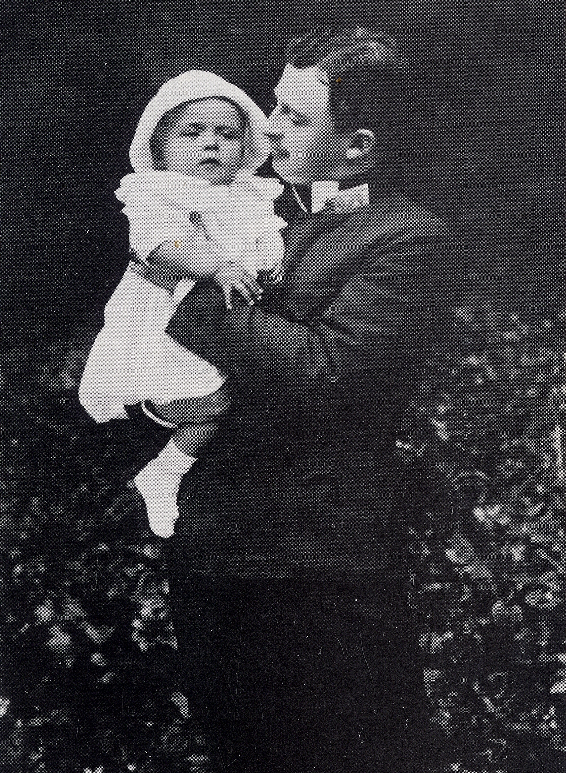 Blessed Karl with son, Archduke Otto