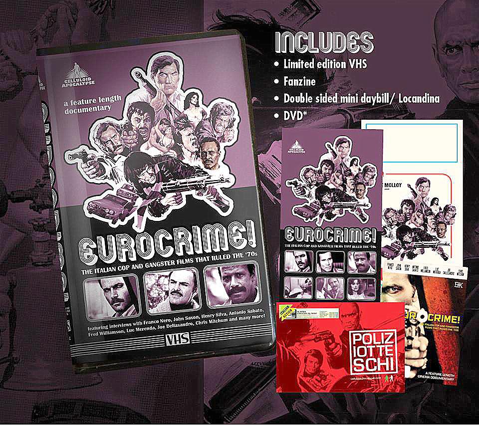 EUROCRIME! on VHS