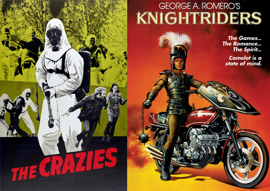 George Romero The Crazies Knightriders