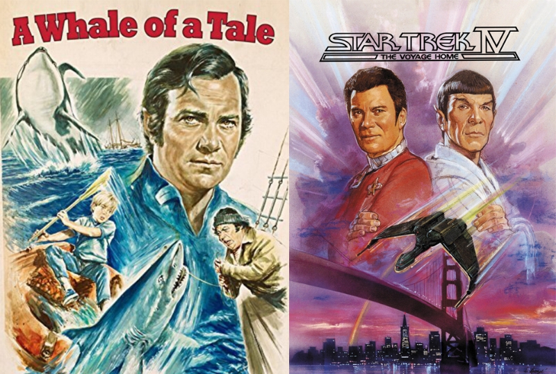 William Shatner Whale of a Tale Star Trek IV