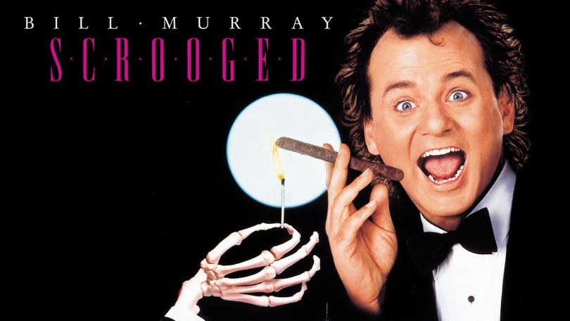 Bill Murray in Scrooged (1988)