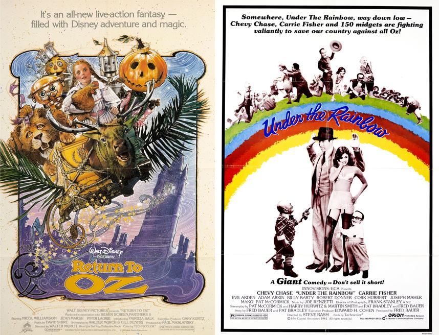 Return to Oz (1985) Under the Rainbow (1981)