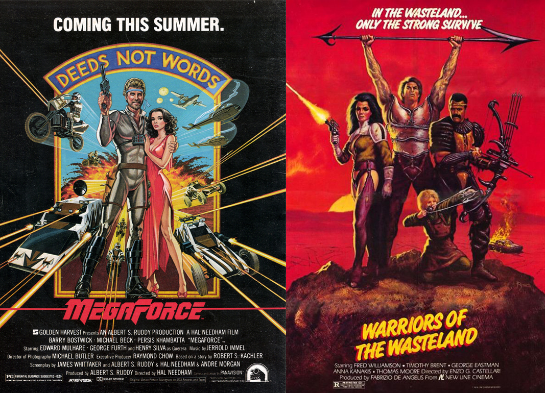 MegaForce & The New Barbarians aka Warriors of the Wasteland