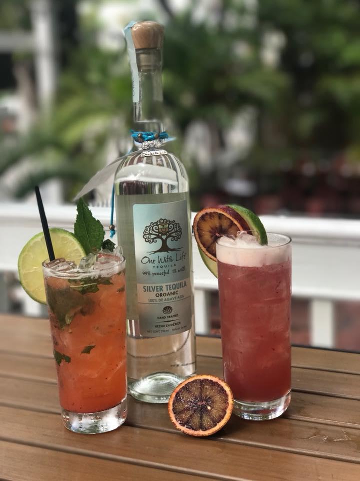 drink first flight KW Strawberry Mint Margarita Blood Orange Margarita.jpg
