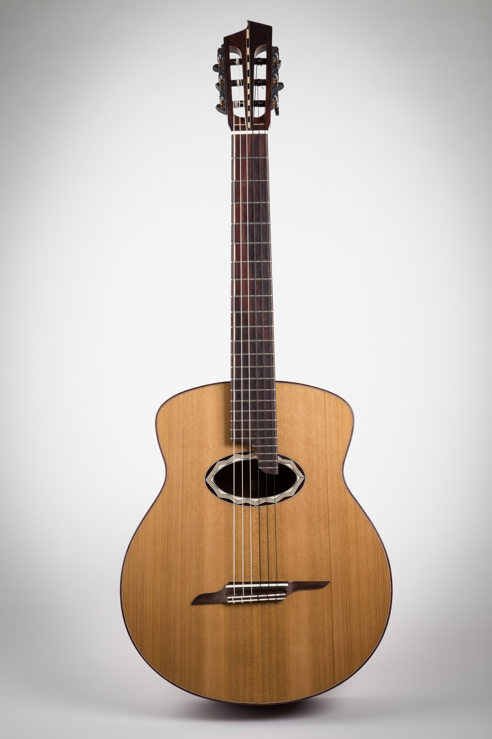 9D-f  western red cedar top, Lapacho back and side, indian rosewood bridge/fingerboard, appointments, 650mm