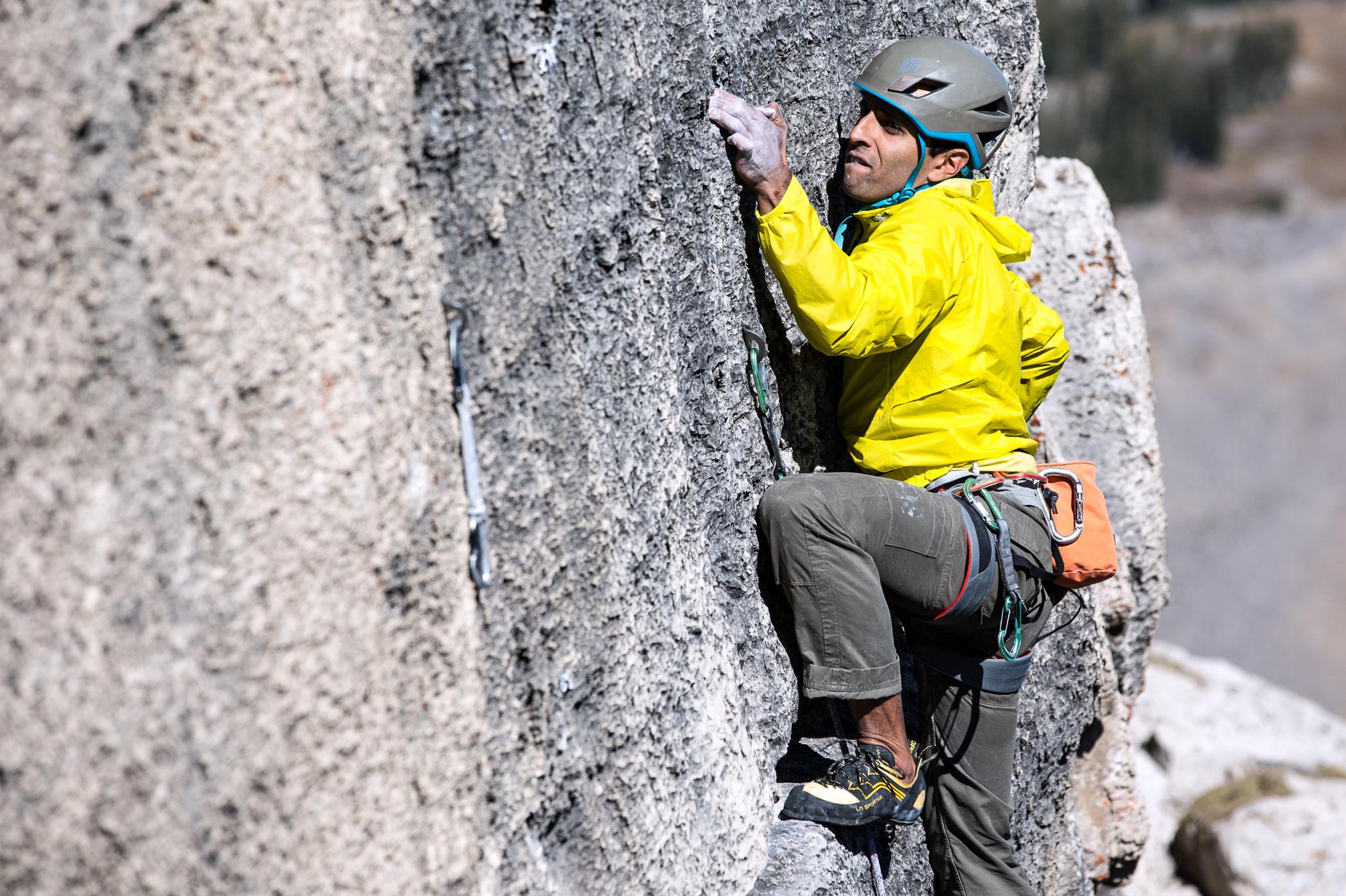 Big wall climbing in Jackson Hole