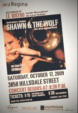 Das Konzert für die Jazz-Society in Regina wird vom CBC-Radio mitgeschnitten.