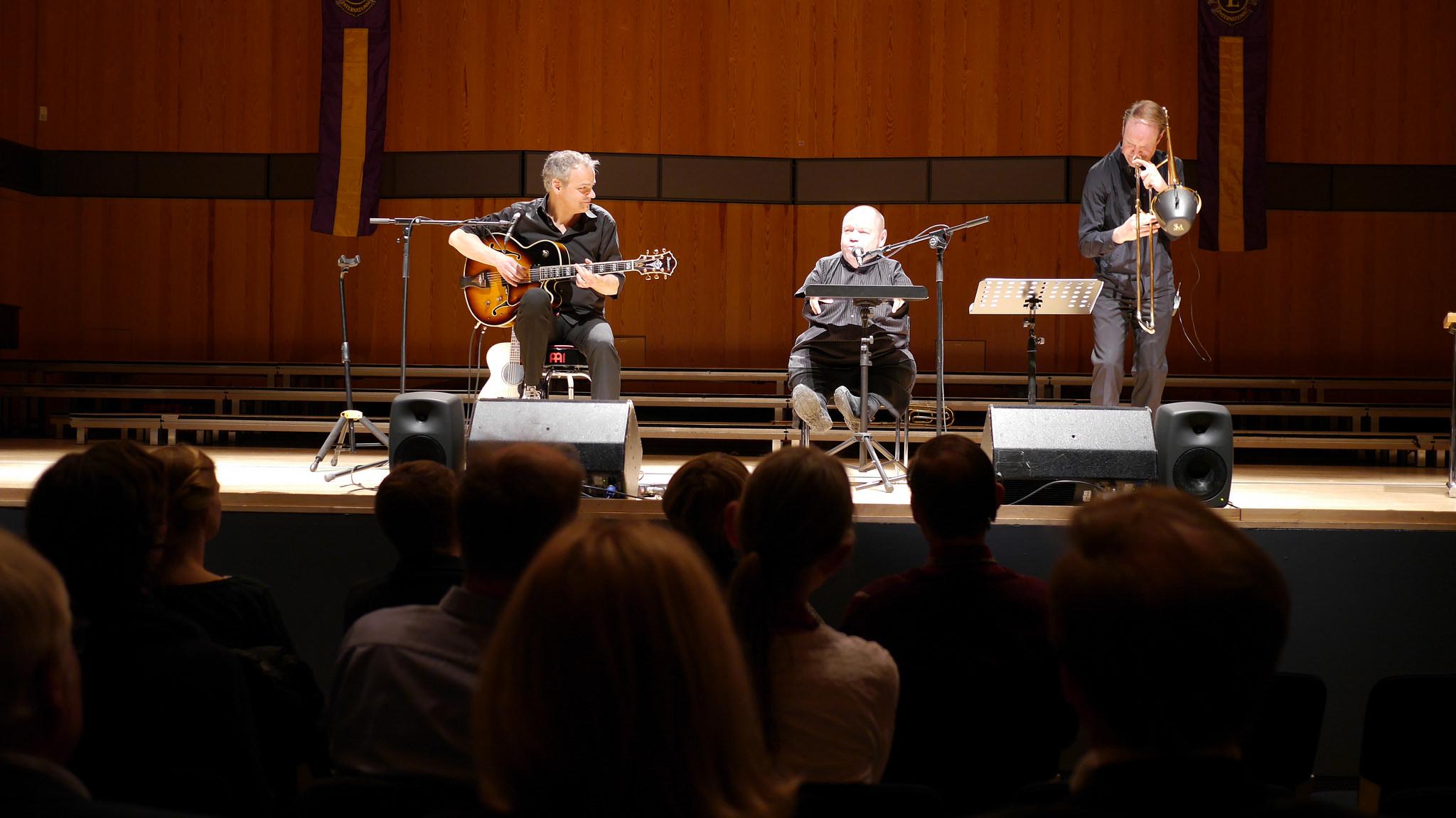 Thomas Quasthoff, Shawn & the Wolf @Konzerthaus HfM Detmold 2018