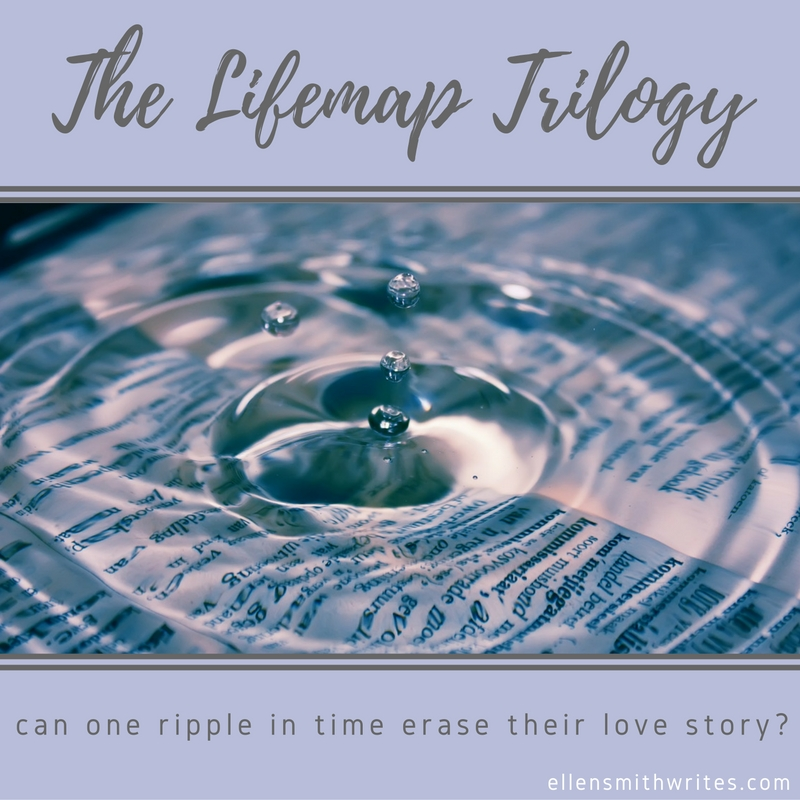 The Lifemap Trilogy - Can one ripple in time erase their love story? To-be-released #Sciencefiction #romance novel by Ellen Smith. Learn more at ellensmithwrites.com