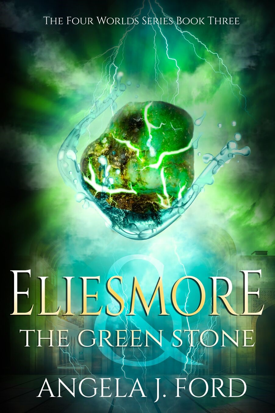 Cover Reveal: Eliesmore and the Green Stone by Angela J. Ford || www.ellensmithwrites.com