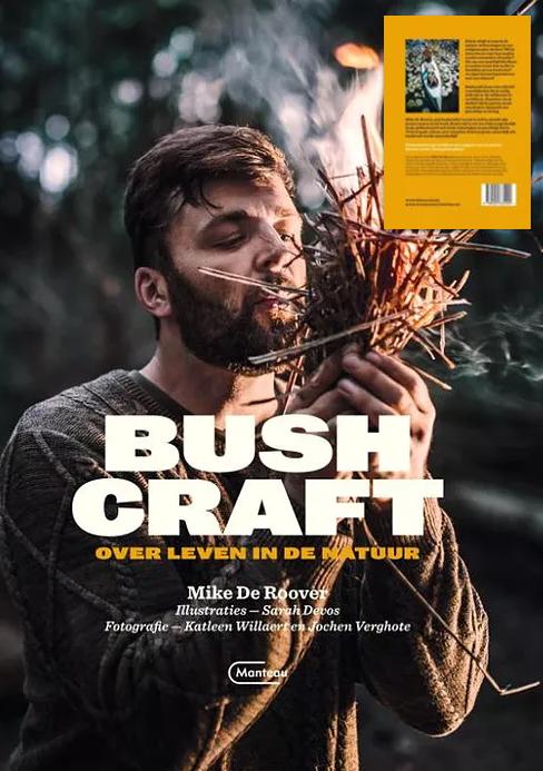"""Dit boek winnen? - Goed nieuws, we mogen het boek """"Bushcraft: over leven in de natuur"""" van Mike weggeven. Ideaal om je voor te bereiden op jouw eigen kampeertrip.Winnen? Deel dit artikel op Facebook, tag Vaderklap en wie weet, sturen wij je dit boek wel op."""