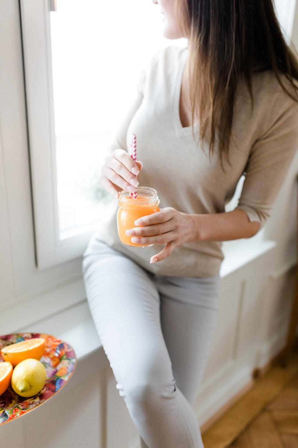 C vitamin juice for flu Sofia CM