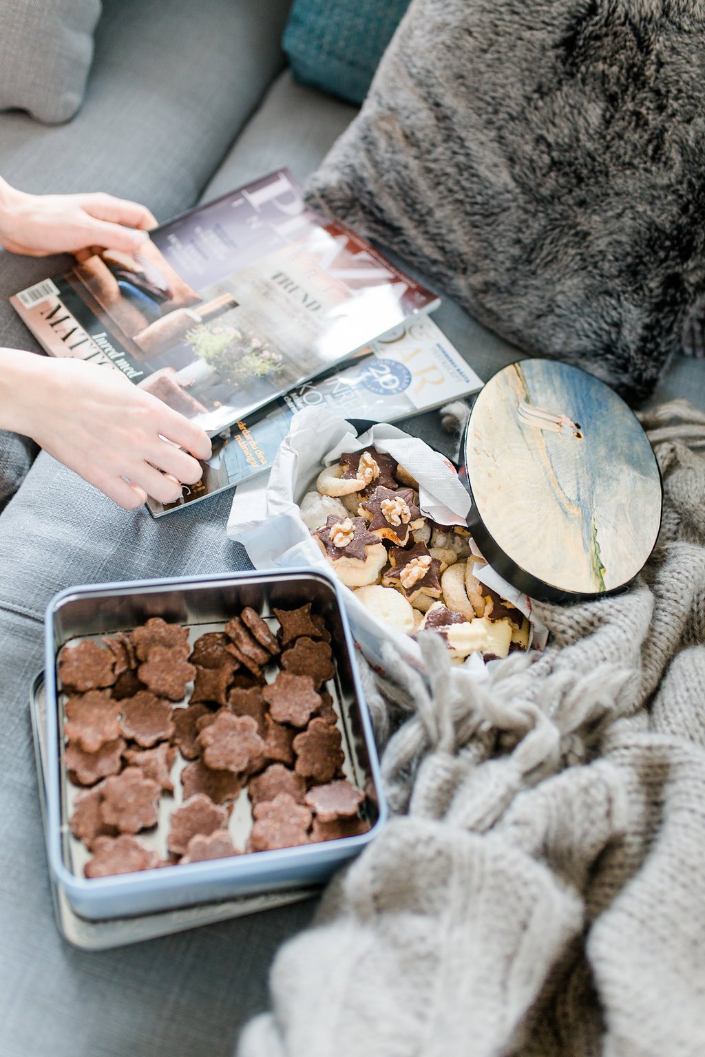 Sofia CM Scandinavian Interior blog -  Swiss Christmas Cookies
