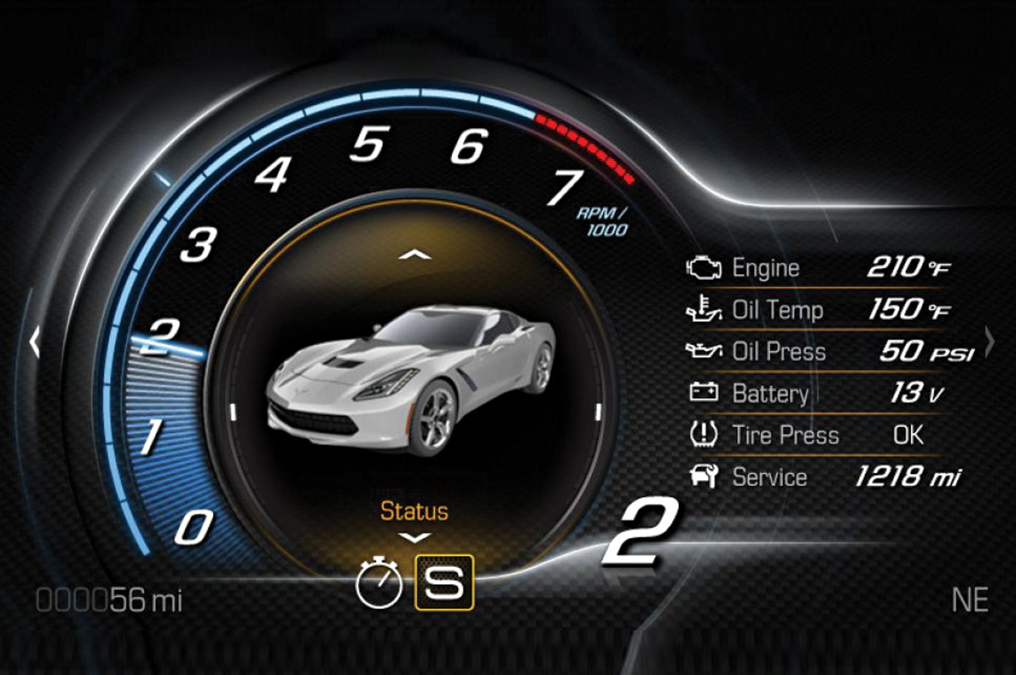 Corvette Dash 1