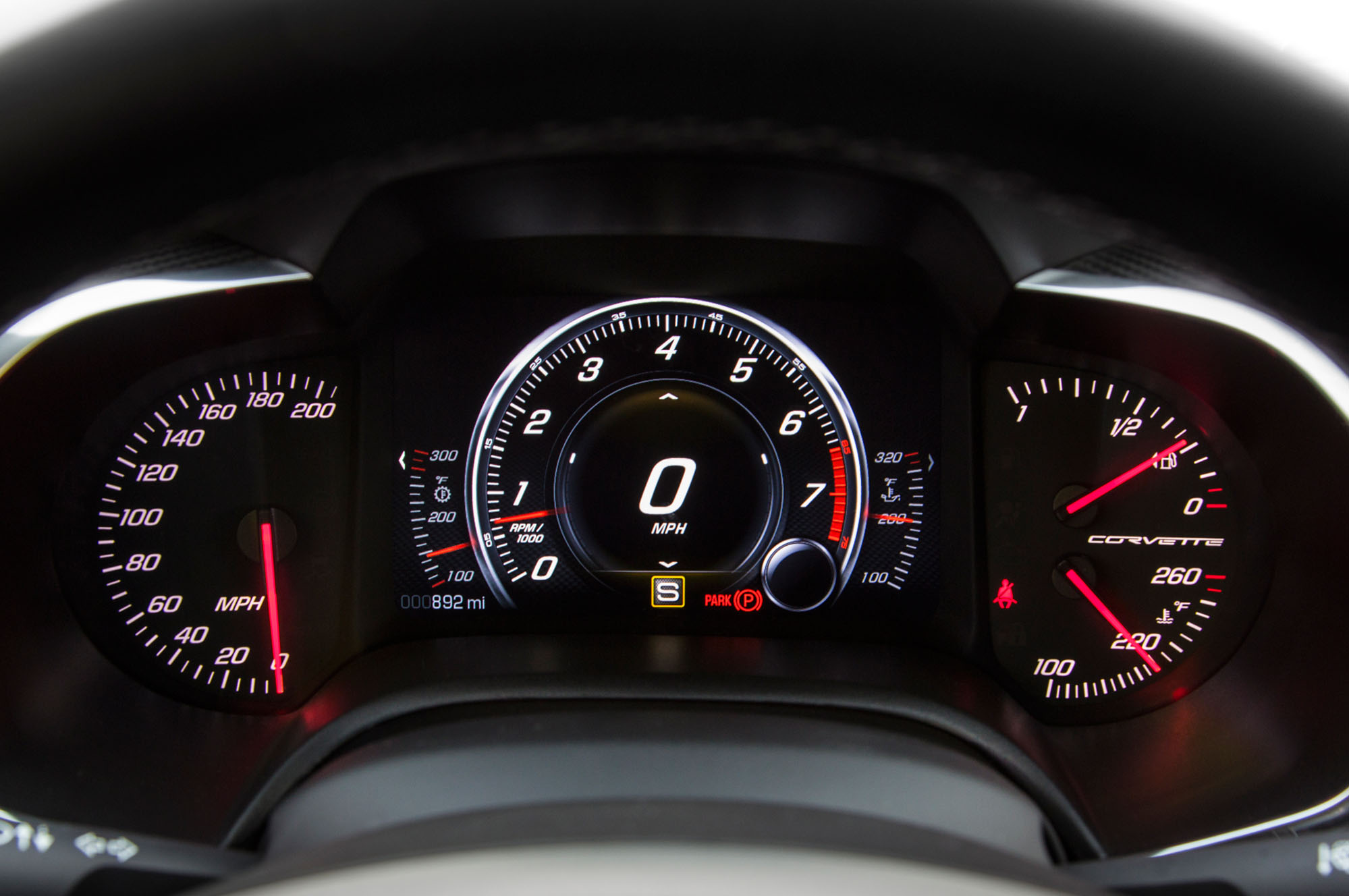 Corvette Dash 2