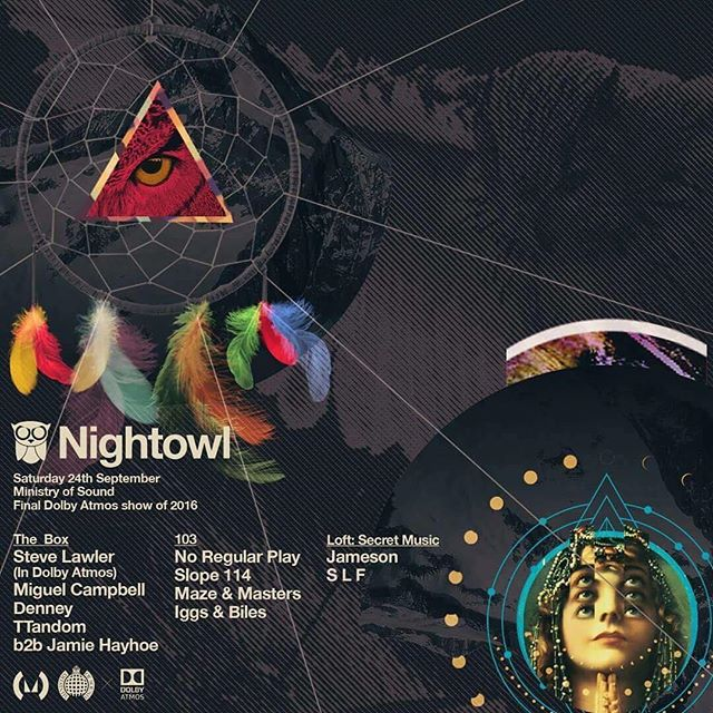 Tonight in the Loft of Ministry of sound ! #techno #nightowl