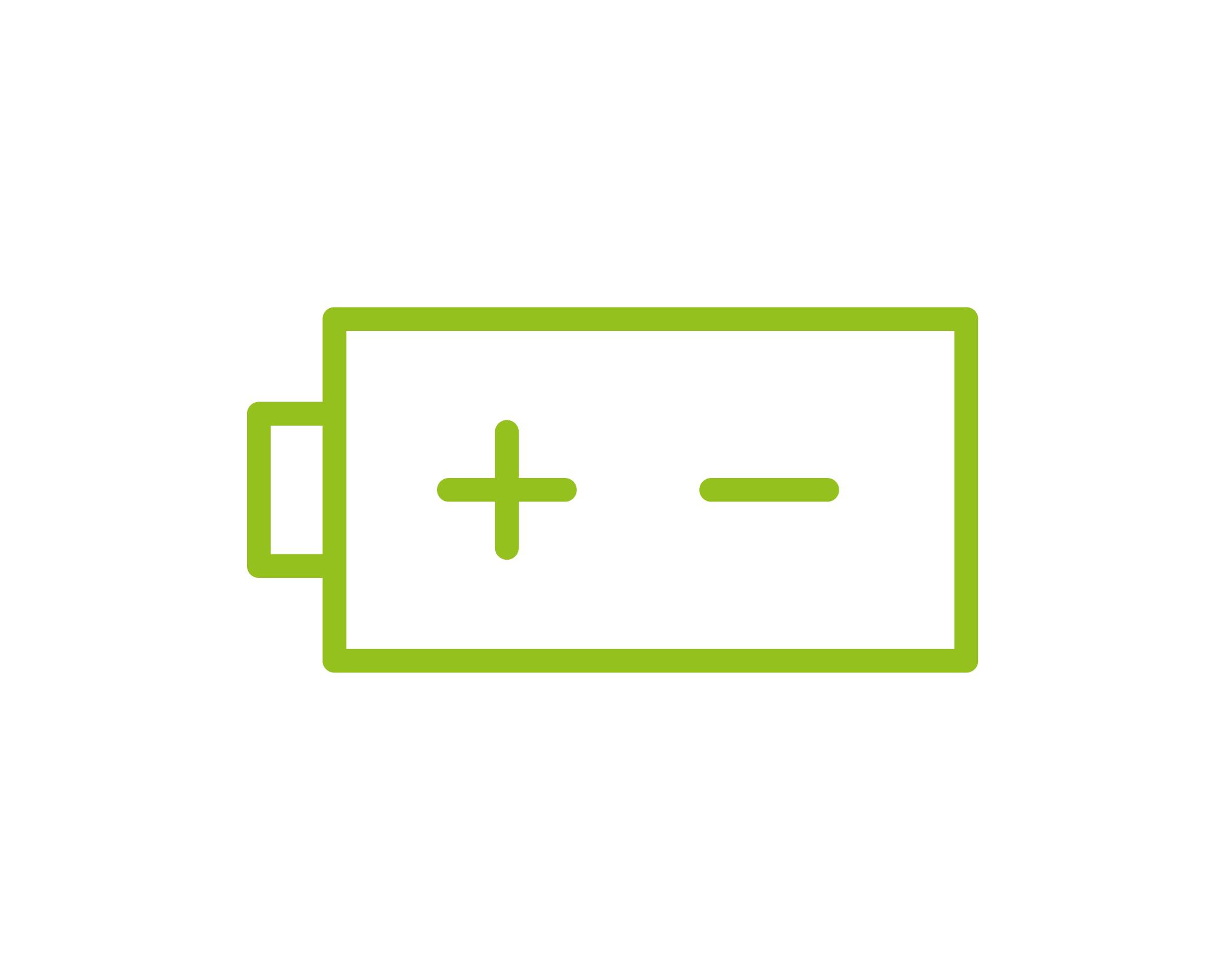 Solar battery storage