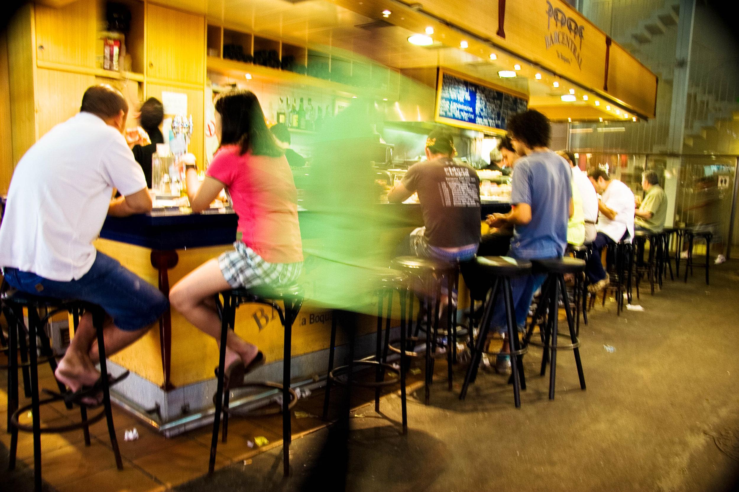 Cafe. Saint Joseph's Market. Barcelona