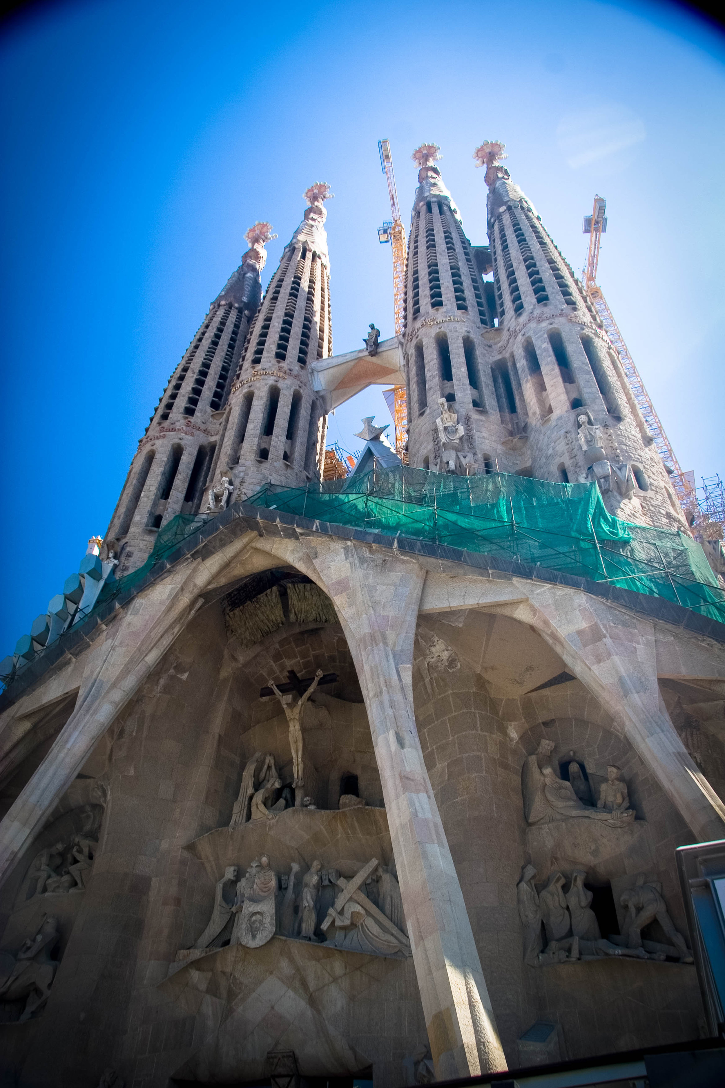 Basílica i Temple Expiatori de la Sagrada Família. Barcelona