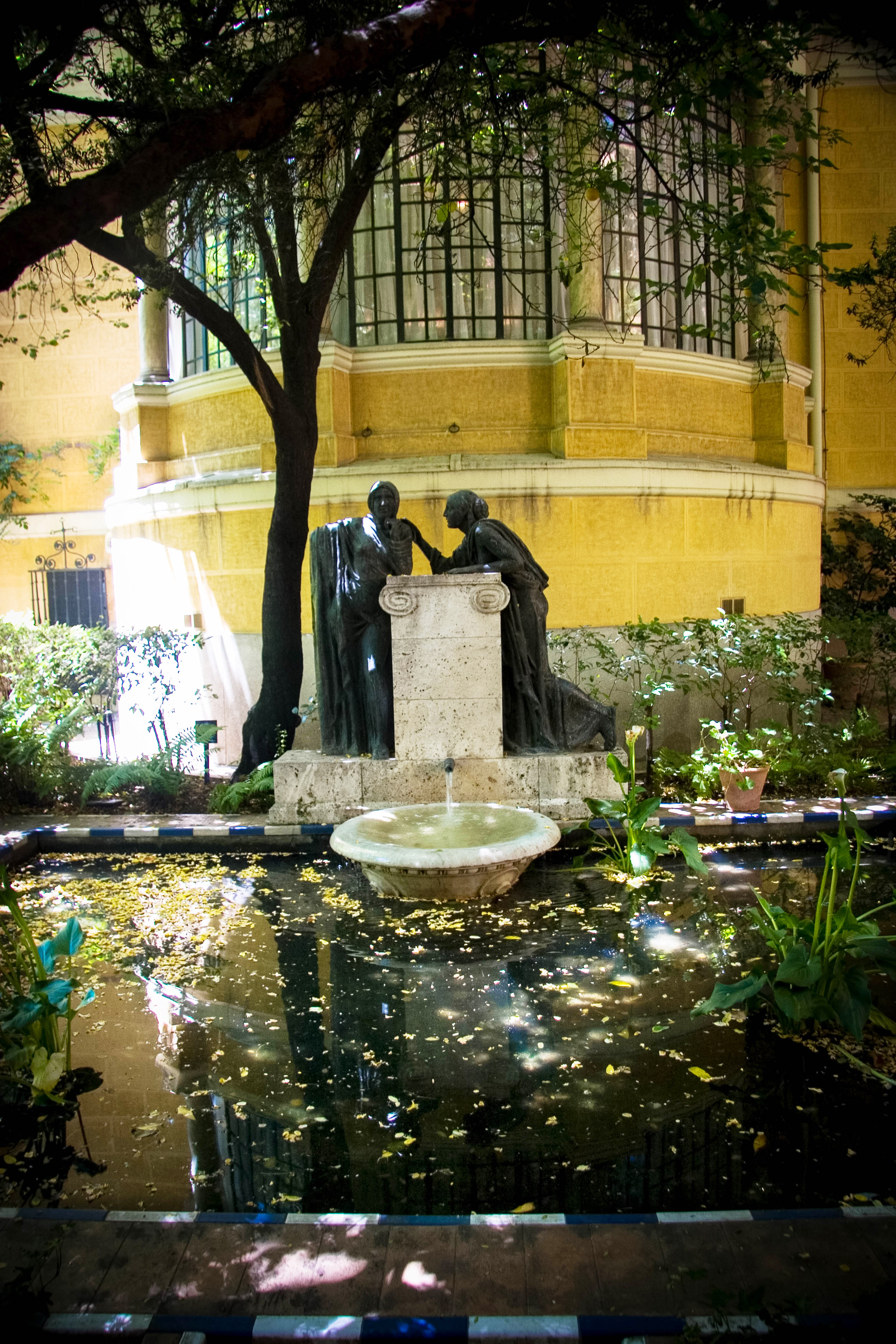 Garden of the Museo Sorolla, Madrid