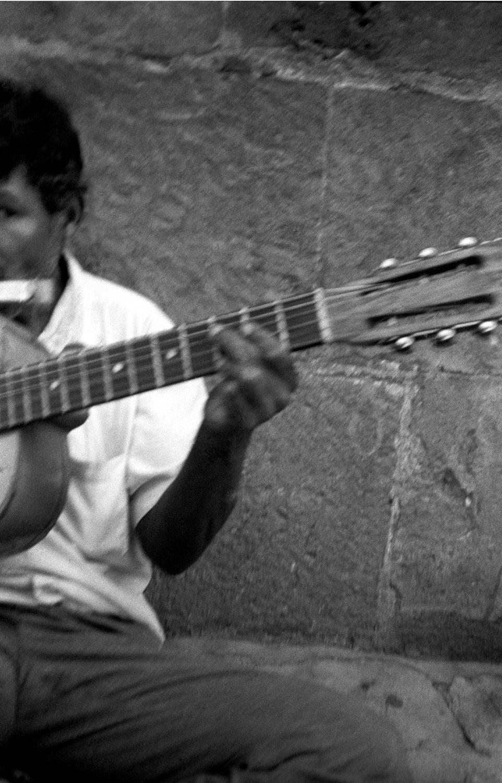 Mexico D.F. Street Musician, Zocaló.