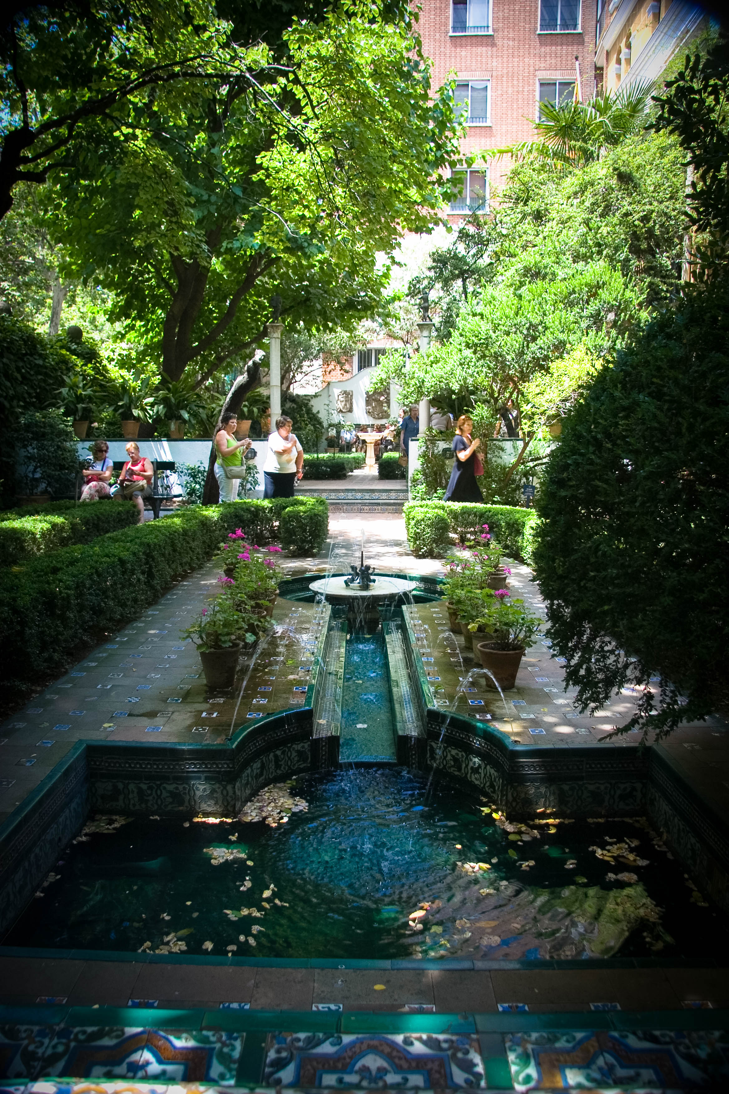 Gardens in the Museo Sorolla, Madrid