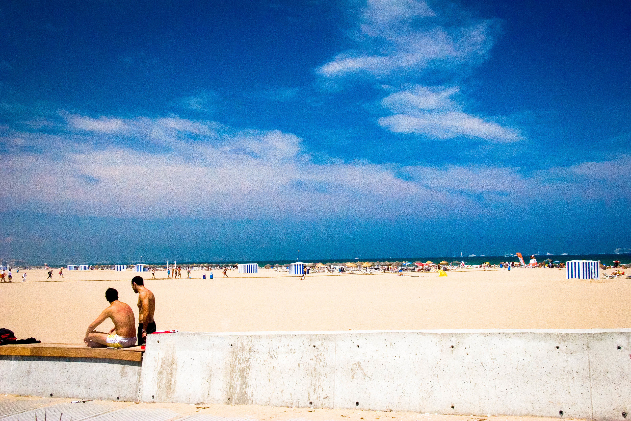 Beachfront, Valencia.