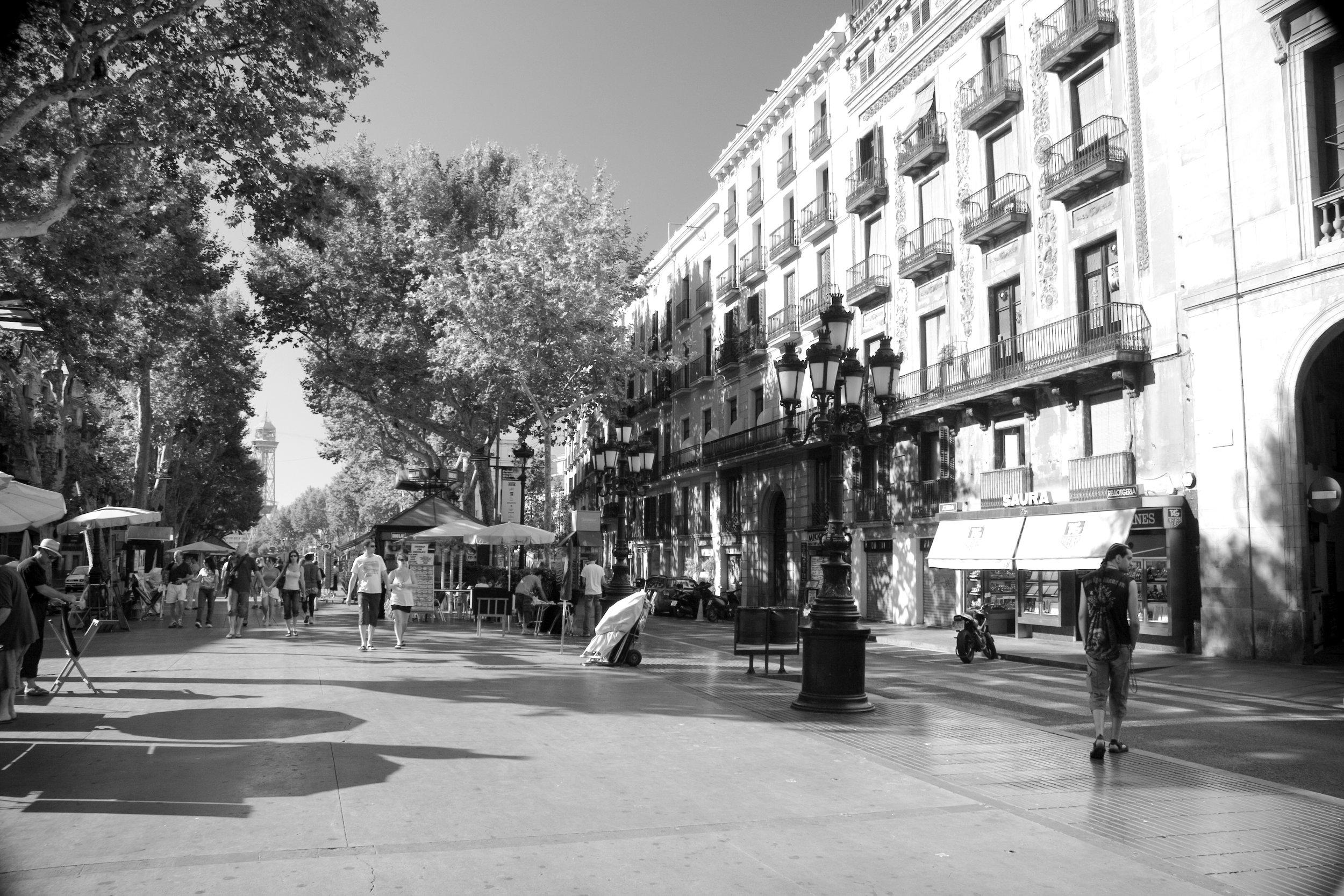 Rambla. Barcelona