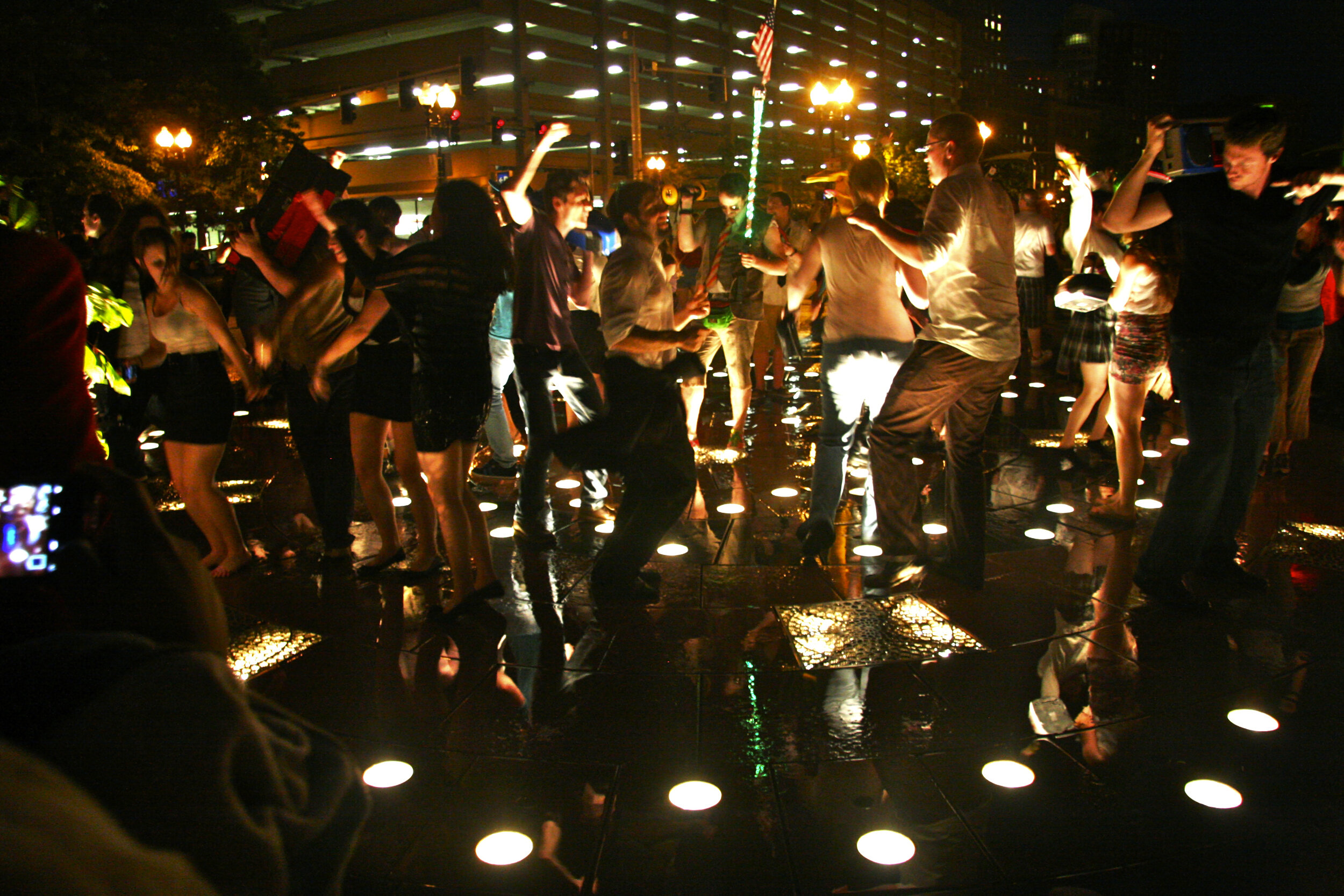 Decentralized Dance Party Boston, 2012