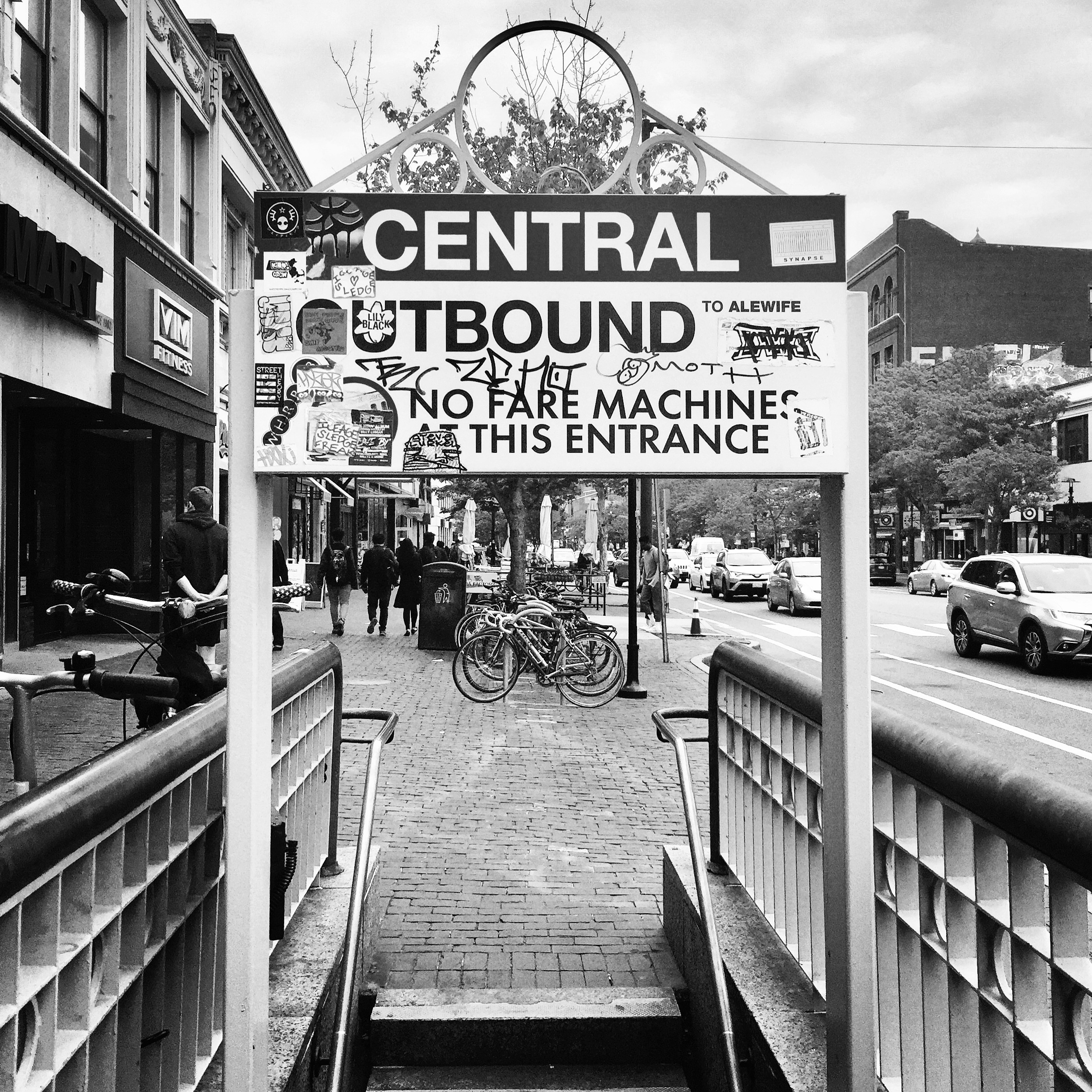 Central Square, Outbound