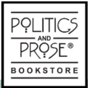 Bookstore Event @  Politics & Prose  - Washington, DC    Friday, April 7, 2017 at 7 p.m