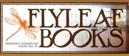 Bookstore Event @  Flyleaf Books  - Chapel Hill, NC    Friday, September 8, 2017, 7 pm