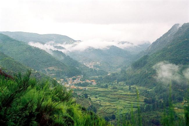 Peneda national park in Portugal
