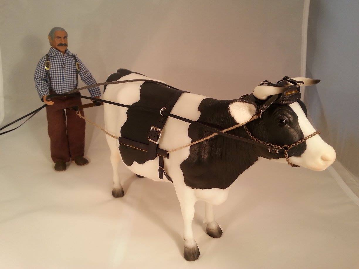 Dora Duftschmied: Cow yoke! What a brilliant addition to NMTM.