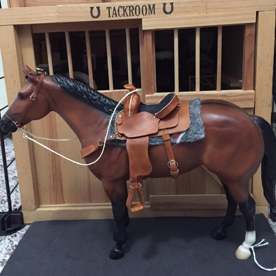 Amber Wylie's first saddle turned out brilliantly. Like so many others, she used the Rio Rondo kit.