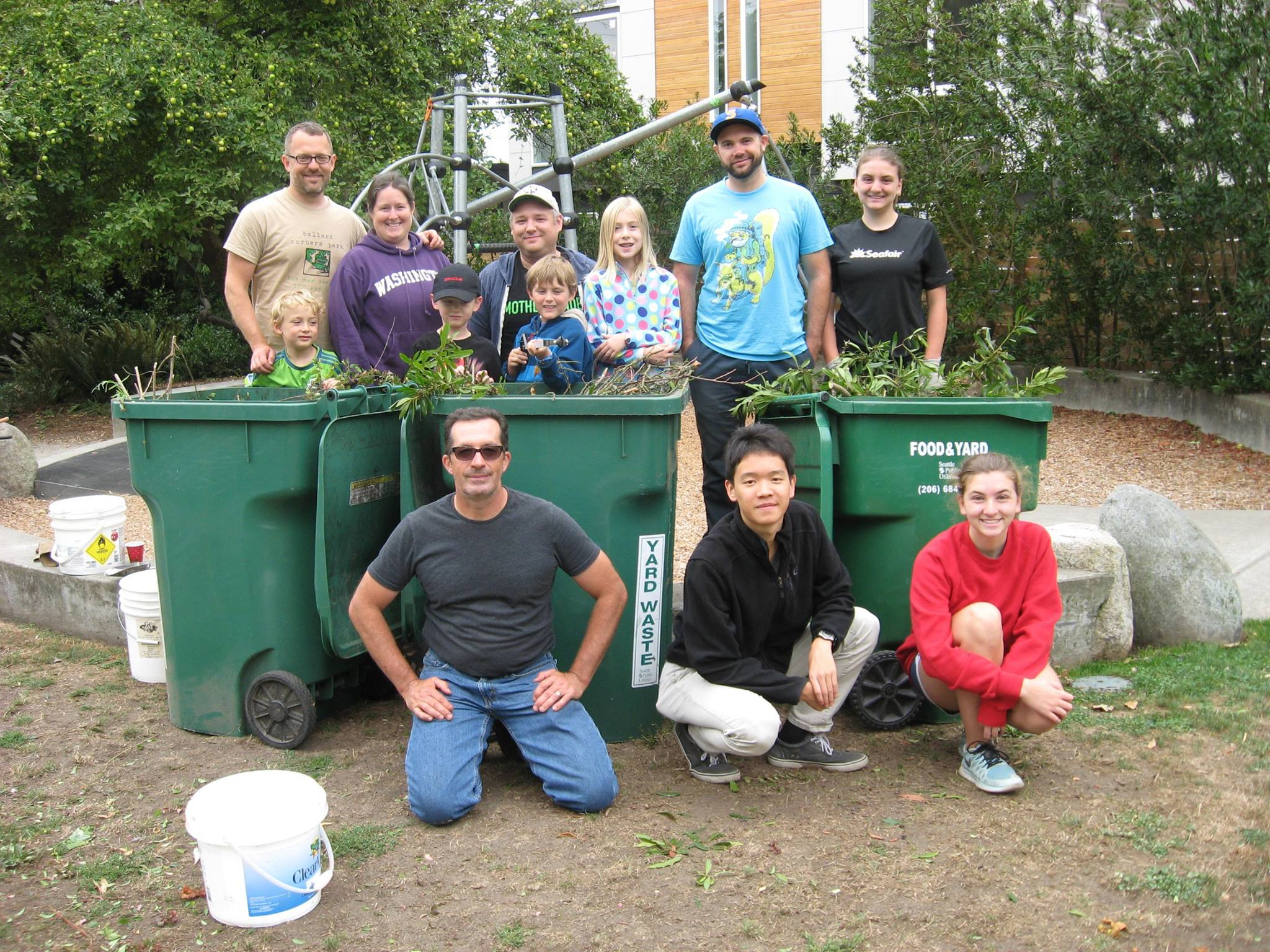 AUGUST 2016 WORK PARTY